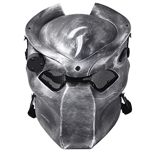 OUTGEEK Alien vs Predator AVP Wolf Maske Airsoft -