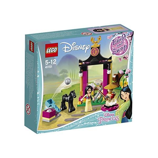 LEGO- Disney Princess Giornata di Addestramento di Mulan, Multicolore, 41151 2 spesavip