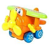 #2: Samaira Toys Push and Go Powerful Friction Toys (Helicopter)