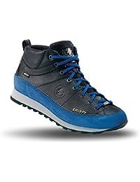 Crispi Zapato Botas Trekking Aspen Coal GTX Snug Mujer Negro Azul 36