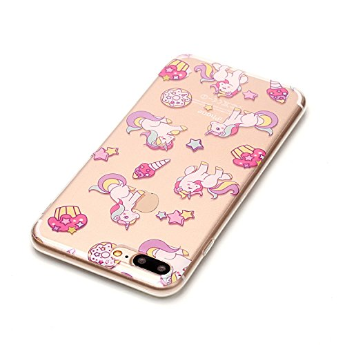 Apple iPhone 7 Plus 5.5 Hülle, Voguecase Schutzhülle / Case / Cover / Hülle / TPU Gel Skin (Weiße hohle 01) + Gratis Universal Eingabestift Pegasus 02