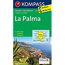 La Palma: Wanderkarte mit Aktiv Guide, Stadtplänen und Radrouten. GPS-genau. 1:50000 (KOMPASS-Wanderkarten, Band 232)
