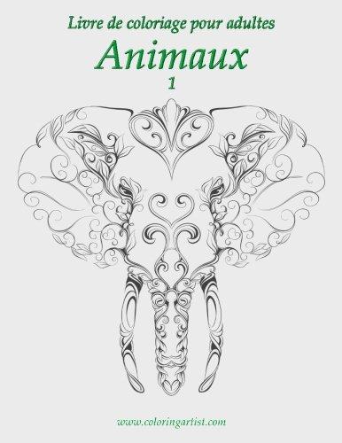 Livre de coloriage pour adultes Animaux 1