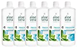 CV24 LR Aloe Vera Drinking Gel Freedom 6 x 1000 ml plus gratis LR Uhr