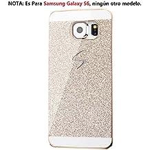Malloom®para Samsung Galaxy S6 lujo diamante cristal rhinestone caso y la cubierta Fundas y Carcasas (oro)