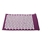 Anself Massager Cushion Yoga Bed Nails Mat for Acupressure Massage