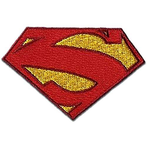 Parches - Superman 'Logo' - rojo - 8 x 5 cm - termoadhesivos