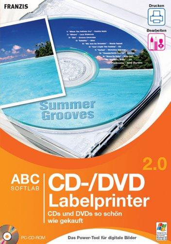 CD-/DVD Labelprinter 2.0, 1 CD-ROM CDs und DVDs so schön wie gekauft. Für Windows 98 SE/ME/2000/XP