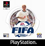 FIFA 2001 - PlayStation - Electronic Arts - 2000 - Very Good Condition
