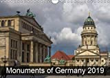 Monuments of Germany 2019 (Wall Calendar 2019 DIN A4 Landscape): The best photos from Wiki Loves Monuments, the world's largest photo competition on ... calendar, 14 pages ) (Calvendo Places)