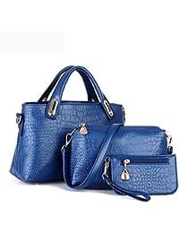 DZT1968' Women Handbag Shoulder Bags Tote Purse Leather Ladies Messenger Hobo Bag