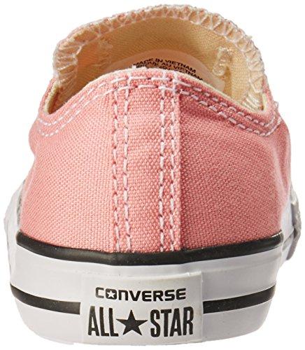 Converse Chuck Taylor All Star Enfant Seasonal 2V Ox, Baskets mode mixte enfant pink