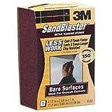 3M SandBlaster 9562 Dual Angle Sanding Sponge 150-Grit (Pack of 12)