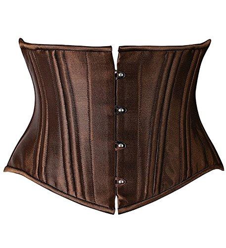 camellias-26-steel-boned-corset-short-torso-heavy-duty-waist-training-cincher-uk-sz1934-brown-xs