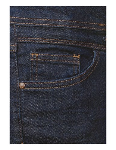 Cecil Toronto Slim, Jean Coupe Droite Femme Blau (Rinsed Wash 10236)