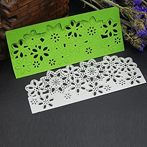 Xshuai® 2017 New Flower Heart Metal Cutting Dies Stencils DIY Scrapbooking Album Paper Card Craft for Embossing Lessons Party Decoration