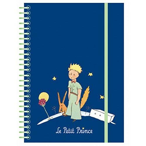 Le Petit Prince Carnet de Notes Bleu Foncé