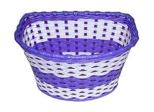 laxzo panier pour v lo enfant disney violet neuf accrocher l 39 avant du v lo. Black Bedroom Furniture Sets. Home Design Ideas