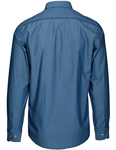 Basefield Herren Freizeithemd Modern Fit - Urban Blue (219011339) 605 URBAN BLUE