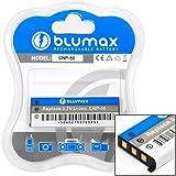 Blumax 3,7 V 800 mAh Li-Ion Batterie/Pile pour NP-50/NP-50DBA pour Casio EX-V7SR/EX-V8/EX-V8SR