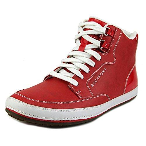 rockport-harbor-point-mid-cut-uomo-us-115-rosso-scarpe-ginnastica