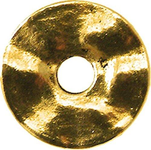 MegaCrea Anneau Donut métal 18 mm Doré