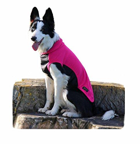 Glenndarcy Dog Pants Leichte Polar Fleece Jumper für Hunde mit wasserdichter Stoff Bauch/Hunde, Brust-, Tank Top Weste–Glenndarcy mctog–Hüllen (Polar-fleece Microfleece)