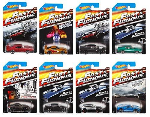 Mattel Hot Wheels - Voiture Fast & Furious - Modèles Aléatoires - (CKJ49)