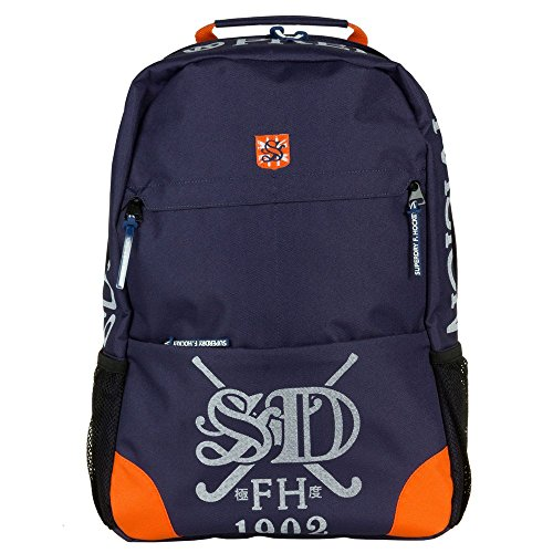 Superdry M.A.Field Hockey Hombre Backpack Azul