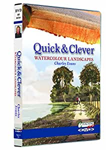 Quick and Clever Watercolour Landscapes DVD - Charles Evans