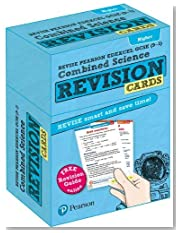 Revise Edexcel GCSE (9-1) Combined Science Higher Revision Cards: with free online Revision Guide (Revise Edexcel GCSE Science 16)