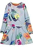 Oilily Jersey Kleid Toop Blau für Mädchen YF17GDR288