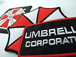 Resident Evil Umbrella Corporation Costume Cosplay Patches Set of 3 by ONEKOOL ,