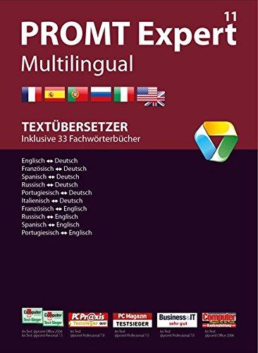 PROMTExpert 11 Multilingual: Software für Übersetzer. Sprachen: Deutsch, Englisch, Französisch, Spanisch, Russisch, Italienisch und Portugiesisch. ... Integration. (PROMT Übersetzungssoftware)