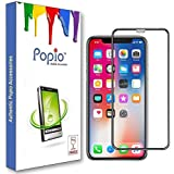 POPIO Full Glue Edge to Edge Tempered Glass Screen Protector For iPhone XR