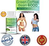Premium Green Coffee Bean Extract 6000mg for Weight Loss ? Highest Strength in the Market? Fat Burner with 50% Chlorogenic Acid ? 6000 mg Per Daily Serving? THE HIGHEST Available on the Market and the Strongest and Most Effective Green Coffee Bean For Wei