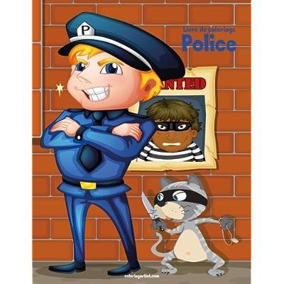 Livre de coloriage Police 1