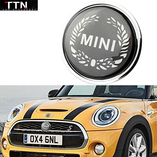 ttn-univesal-black-wheat-mini-cooper-front-grill-emblem
