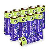 Alkaline 23A MN21 Quecksilberfreie Batterie 12V, 10 Stück im Multi-Sparpack (A23/ V23GA / LRV08 / 8LR932) entwickelt für die