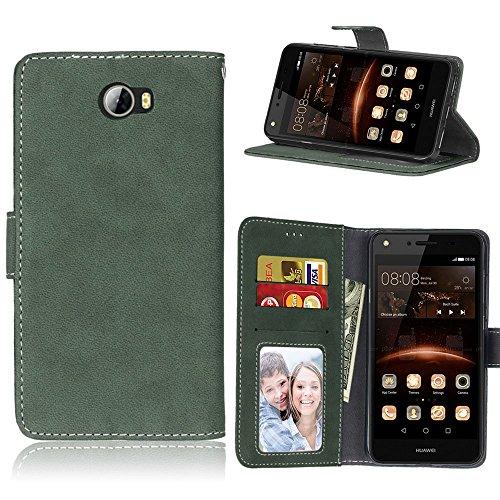 pinlu Funda Para Huawei Y5 II Alta Calidad Función de plegado Flip Wallet Case...