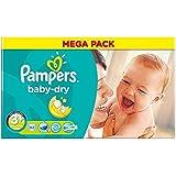 Pampers Baby Taille Sec 3 + Déjeuner 5-10Kg Plus Récente (92)