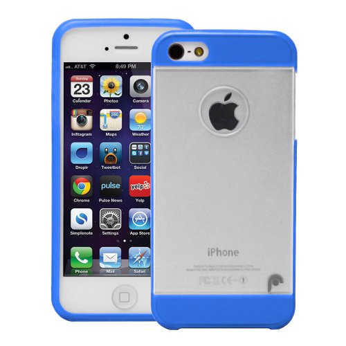 Fosmon HYBO Series Hybrid PC + TPU Protective Skin Case Cover for Apple iPhone 5 / 5S / SE