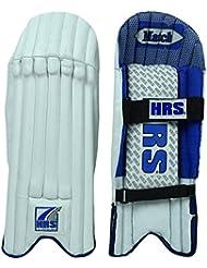 HRS Collège professionnel en cuir PU Poids léger droit Wicket Keeping Leg Guard