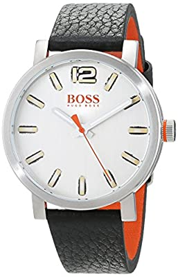 Hugo Boss Orange Reloj Análogo clásico para Hombre de Cuarzo con Correa en Cuero 1550035 de Hugo Boss Orange
