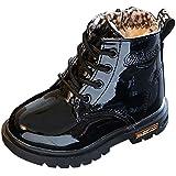 Hiroo Niños Niños pequeños Bebés Niños bebés Muchachas Martin Sneaker Zapatos de la nieve del invierno Botas de nieve suave gruesa Calidad Cómoda Botas impermeables