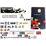 CARTE TNTSAT 4 ANS