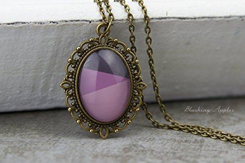 Dip Dye Kette - Violet -
