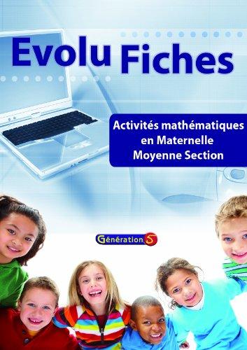 Activités en mathématiques en maternelle Moyenne Section