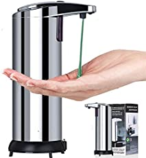 Others Deziine Stainless Steel Hands-Free Automatic Sensor Touchless Soap Liquid Dispenser
