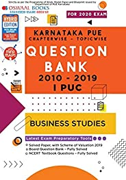 Oswaal Karnataka PUE Solved Papers I PUC Business Studies Book Chapterwise & Topicwise (For March 2020 E